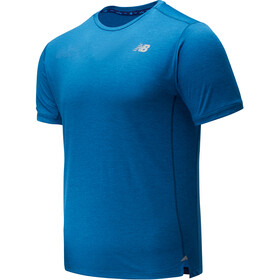 New Balance Impact Run Top Manga Corta Hombre, mako blue